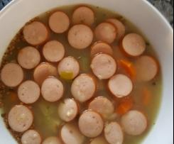 Gerrys schnelle Gemüsesuppe  -  köstlich und sehr gesund