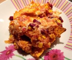 Tortilla-Chips-Auflauf