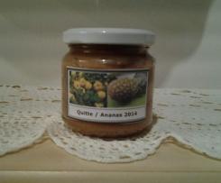 Variation von Quitten-Ananas-Marmelade