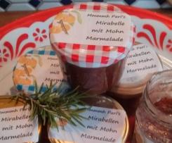 Mmmh Mirabellen-Mohn-Marmelade