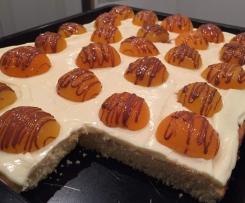 Aprikosen-Schmand Kuchen