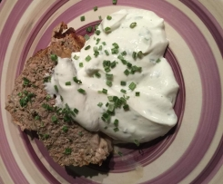 Hackbraten - Low Carb Low Fat
