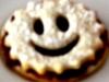 Marmeladen Smileys (Hildabrödle, Linzer Plätzchen)