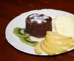 Schokoladen- Nuss Soufflé aus dem Varoma