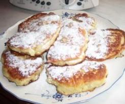 René s Hefepfannkuchen mit Apfel