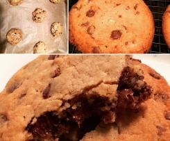 Tripple Chocolate Cookies mit Überraschung