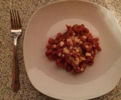 Nina´s Nudeln mit Tomatensoße