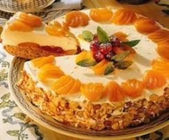 Joghurt Torte mit Früchten
