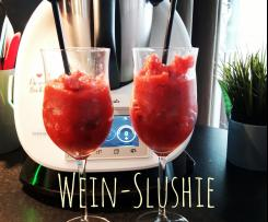 Erdbeer-Wein-Slushie / Wein-Slushie / Sommergetränk 2017