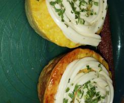 Kartoffelmuffins / Reibekuchen-Muffins