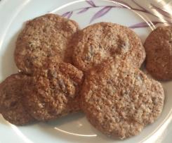 Schoko- Haferflocken Cookies