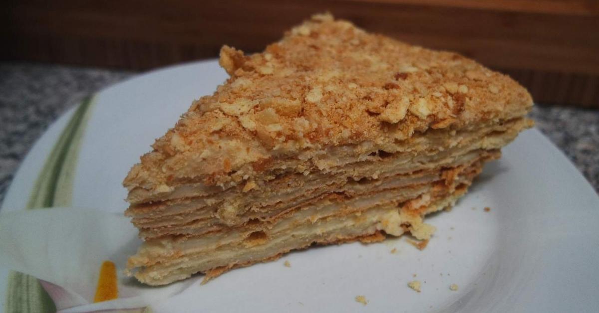 Russische Torte Napoleon Von Thermimania Ein Thermomix Rezept