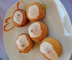 Zitronen-Joghurt-Muffins aus dem rosa Back Buch