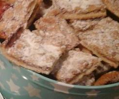 Marmeladen Streusel Kekse