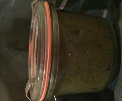 schwarze Olivenpaste