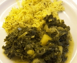 Grünkohl-Curry asiatisch vegan