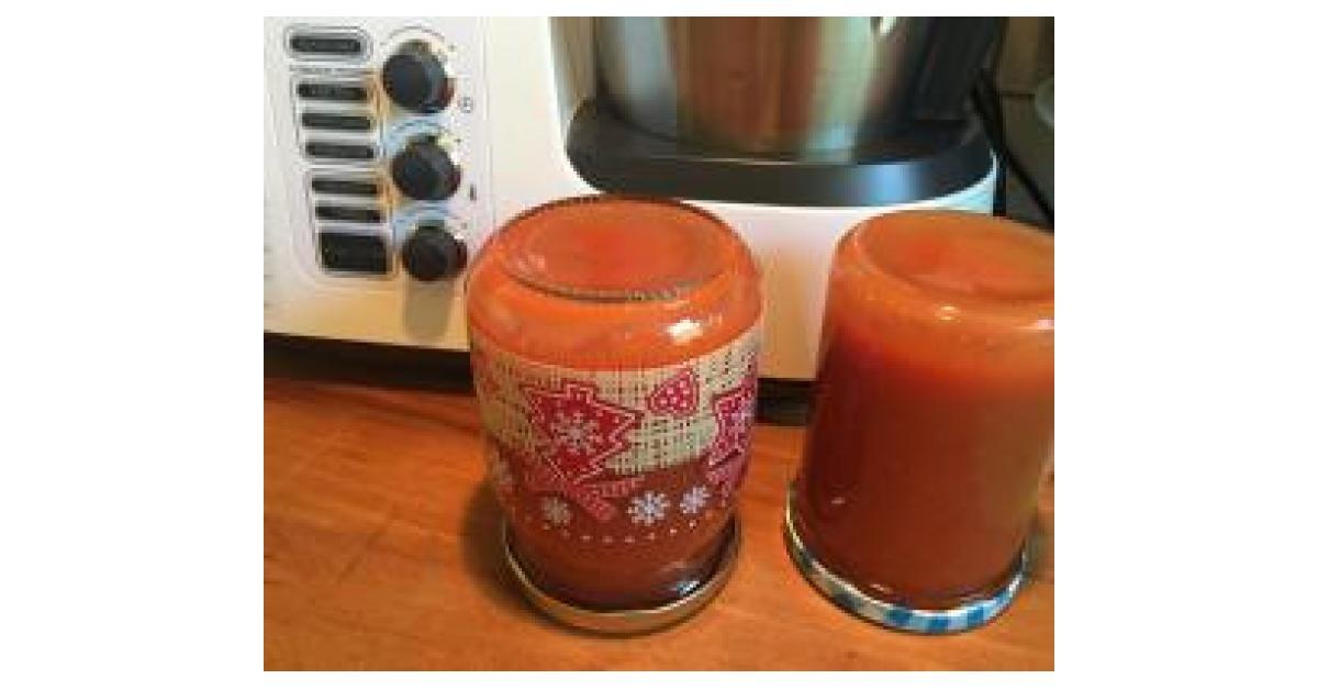 erdbeer mango marmelade von sunnydii ein thermomix rezept aus der kategorie saucen dips. Black Bedroom Furniture Sets. Home Design Ideas