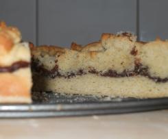 Nutella Streuselkuchen