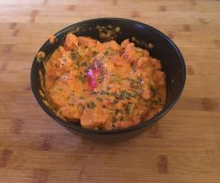 Variation von Paprika - Fleischwurst - Topf
