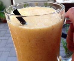 Orangen Smoothie mit Alkohol