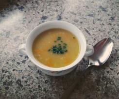 Haferflocken- Suppe