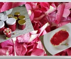 Rosenblütenmarmelade