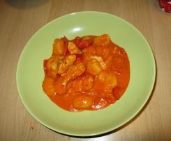 Hähnchen-Paprika-Gnocchi