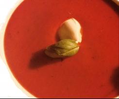 Frische Tomatencremesuppe in 10 Minuten