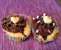 Nutella-Hefe-Muffins
