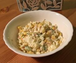 Surimi Krabben Stäbchen Kinder Salat