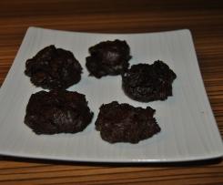 Schokladen Avocado Cookies