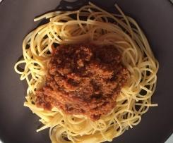 Variation von Nudelsoße Bolognese/Sauce Bolognese - einfach lecker wie vom Herd