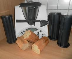 Partyröhren-Brot