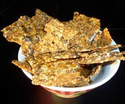 Cräcker - lecker und gesund - nach Rezept von Pitty