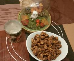 Gebrannte Mandeln / - Nüsse ohne Zucker Low Carb