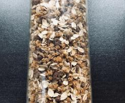 Schokomüsli mit Crunch