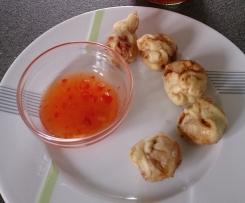 Wan Tan mit Hühnchen