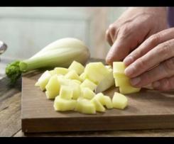 Gemüse Fenchel Brei