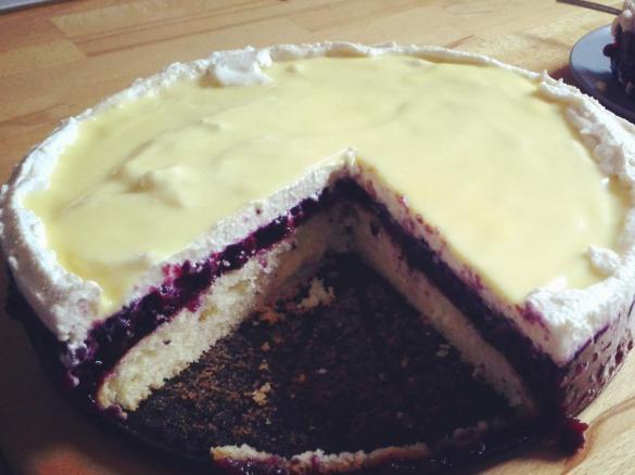 Heidelbeer Eierlikor Torte Von Rabbit Family Ein Thermomix Rezept