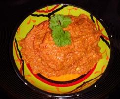 Muhammara - orientalischer Walnuss Paprika Dip - Vegan