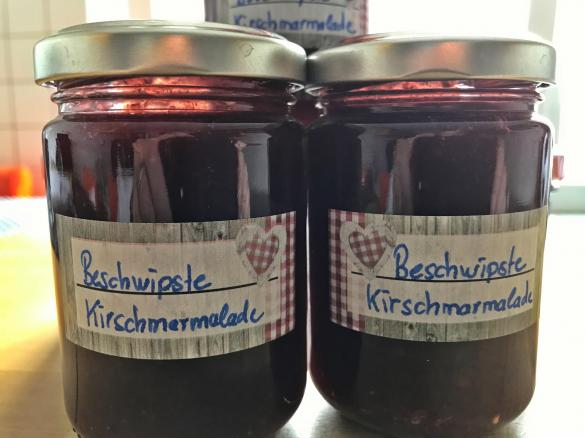 beschwipste kirschmarmelade von jg ka ein thermomix rezept aus der kategorie saucen dips. Black Bedroom Furniture Sets. Home Design Ideas