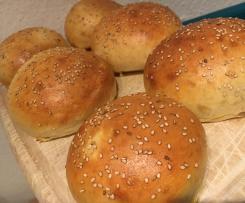 Dinkel Burger Buns / Burgerbrötchen