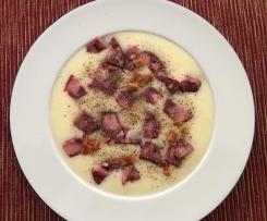 Bottermelksanballerse , Buttermilch - Kartoffelsuppe