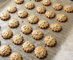 Dinkel-Mandel-Kekse