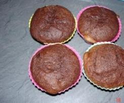 Eiweiß-Schoko-Muffins mit flüssigem Kern (Eiweißverwertung)