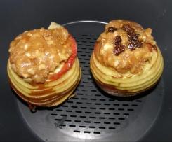 Bratapfel mit Vanillesauce (m. Org.)