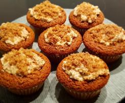 niedliche Maulwurf Muffins