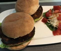 Lachs-Burger XL