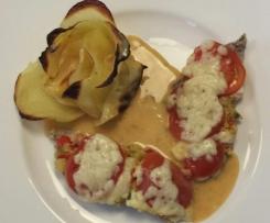 Steffis überbackene Varomaschnitzel mit Kartoffeln