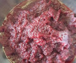 Gerrys Rote Bete-Ketchup  --- mein Beitrag zur Grillsaison